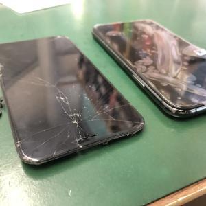 iPhoneXSのフロントパネルを交換しました!次は背面の修理をお勧めします!