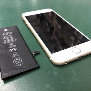 iPhone6Sのバッテリーを交換!購入時から交換なしで4年以上使用!