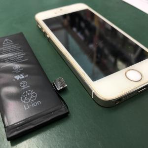 iPhone5Sのバッテリーを交換!! サブ機としていまも活躍中!
