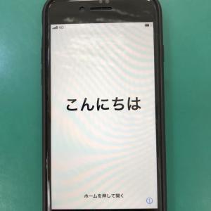 【修理事例】iPhone8夜間時アップデート失敗