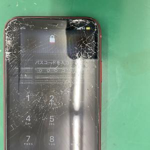 今まで割ったことなかったから…iPhone11の液晶画面割れ修理。鎌ヶ谷市より