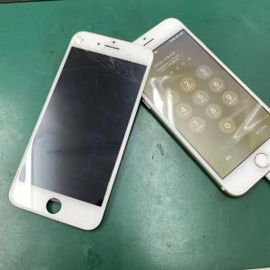 iPhone7画面交換修理も割れたその日に修理可能です!印西市からのお客様