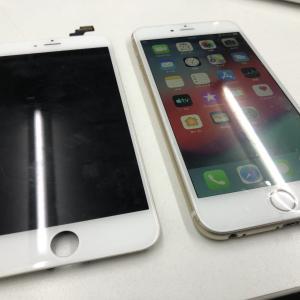 iPhone6Plusのフロントパネルを交換!画面が勝手に動く!!