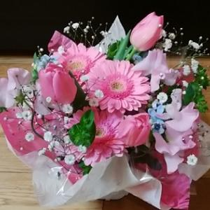 きれいなお花いただきました(*^_^*)