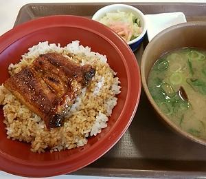 また、すき家にうな丼食べに行きました(^_-)-☆