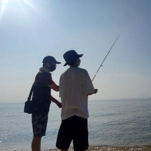 【2021アキ家の夏】琵琶湖でまずはカヌーです