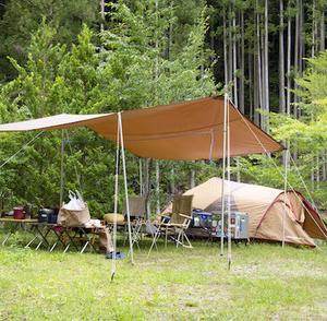ホタルキャンプ、浦谷オートキャンプ場、その1