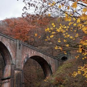 晩秋のめがね橋