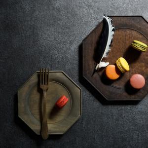 冬のRKガーデンで手に入れた素敵な木皿。