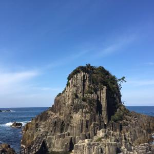 謎の島 鉾島  (福井県 越前海岸 )