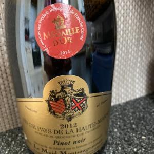 ワイン日記 フランスで数年前に買ってきたワインを飲む