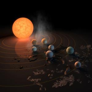 NASAが緊急発表。39光年先に地球に似た7つの惑星を発見!
