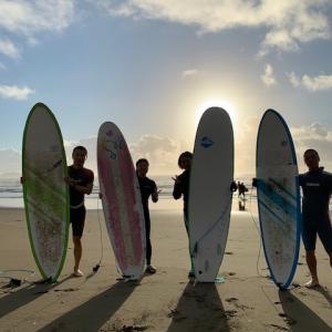 サーフィン挑戦