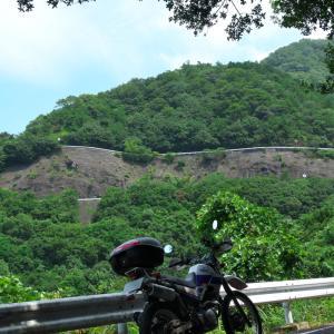 ギリギリ県内ツーリング 久しぶりの晴天下で大坂峠