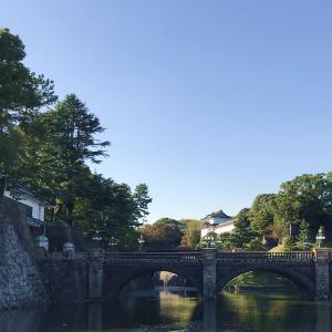 皇居の二重橋を撮影するのは、難しい。