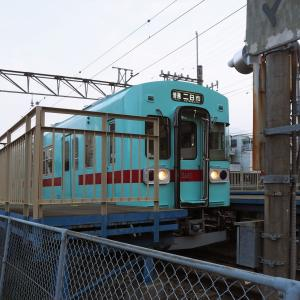 西鉄の可愛い電車