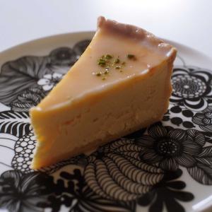 キッシュの後のデザート~レモンのチーズケーキ~