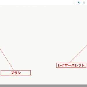 Adobe Photoshop Sketchの使い方(2)ブラシツール
