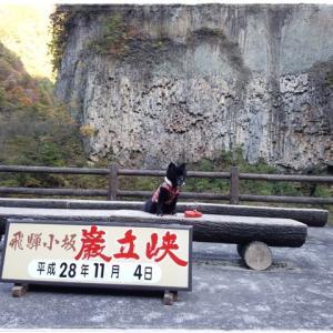 【振返り】巌立峡 2016.11.04