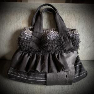 白と黒のbag (^^)