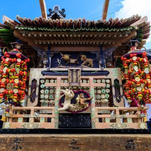 瑞饋祭2019(ずいき神輿編)