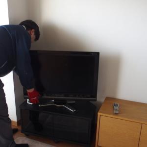 8Kテレビの納品