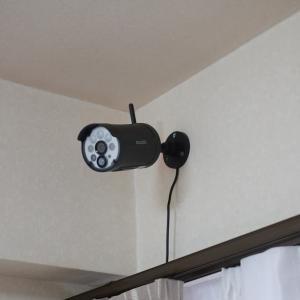 防犯の為ではない、防犯カメラを設置