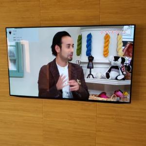 テレビを壁掛けにする場合、有機ELのテレビがお勧めです。