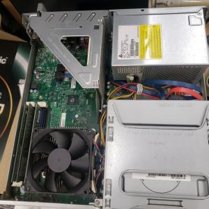 パソコンのHDDをSSDに変更。