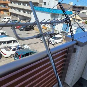 UHFアンテナの設置事例