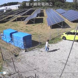 台風通過!とりあえず監視カメラで確認ヾ(–;