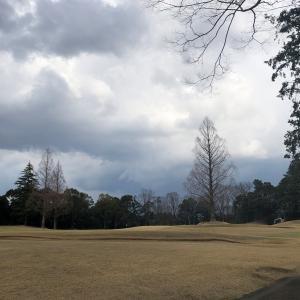 久しぶりのゴルフ…散々なお天気、散々なスコア(^-^;