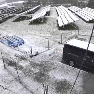 降雪!!他人の発電所の心配をしていたら…他人事じゃなかった(^-^;