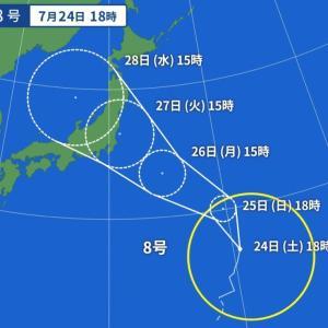 台風発生!!対策補強は気休め!?(~0~)