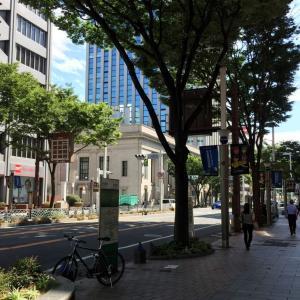 ピークは過ぎたけど まだまだ暑い名古屋です