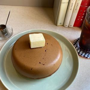大きなホットケーキ【小樽のcafe】