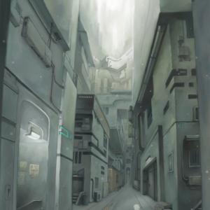 下層の街並み。