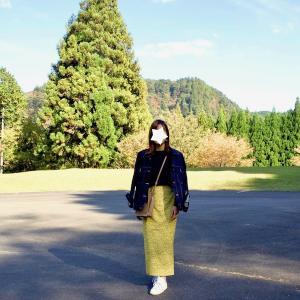 パパにも褒められた!GUの1990円花柄スカートで週末スニーカーコーデ♪