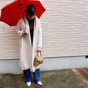帰省コーデ1日目★好きすぎて2色目のMyuニットフリースコートが5000円以下に!
