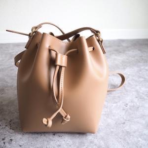【GU】大人っぽいデザイン&カラーに一目惚れ!ドローストリングミニバッグが使いやすそう♪