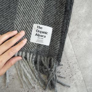 ニューヨーク発!薄くて暖かなThe Organic Alpacのポケットショール