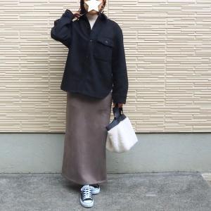 <UNIQLOのメンズitem>×<2000円以下の秋冬スカート>で公園コーデ♩