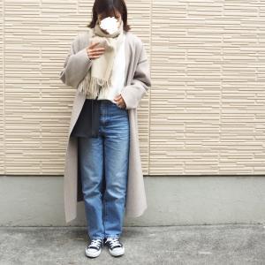 大好きなUNIQLOニット/ミルクティ色が可愛すぎたカシミヤストール♡