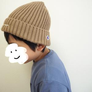 帽子好きな息子が気に入った♡ふわふわ裏ボアのニット帽