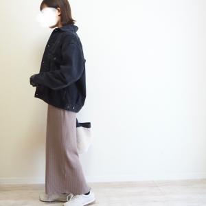 めちゃめちゃ使えそう!UNIQLOのデニムジャケット、Mサイズはオーバーサイズ感が可愛い♡