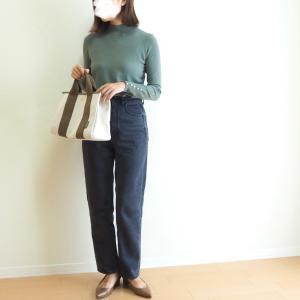 袖パールがポイント♩INするのにもぴったりな細身ニット/おうちの打ち合わせで役立ってるもの!