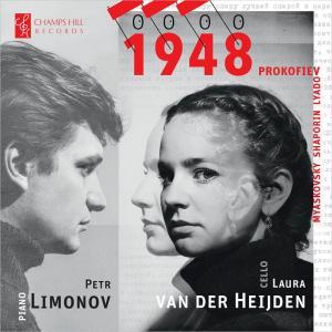 【ディスク 感想】1948 チェロとピアノのためのロシア作品集 ラウラ・ファン・デル・ヘイデン(Vc)ペトル・リモノフ(P)