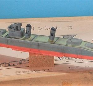 1/700 海上自衛隊 初代護衛艦「むらさめ」作り (艦上パーツ、船体ウエザリング)