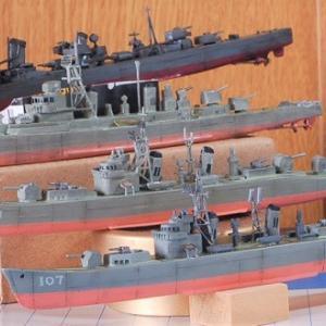 1/700 海上自衛隊初代護衛艦「むらさめ」完成写真 4.