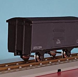 1/80HO16番スケール ワム90000型貨車を作る。 (完成)